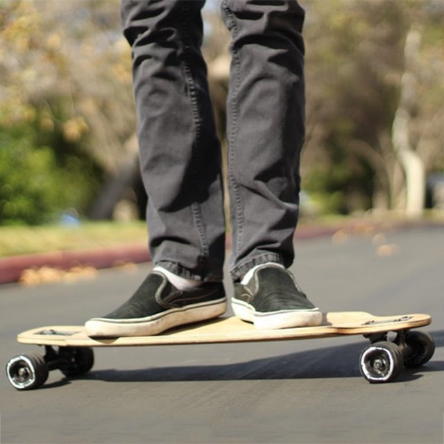 Kraken Shark Wheel Mini Drop-Through Skateboard