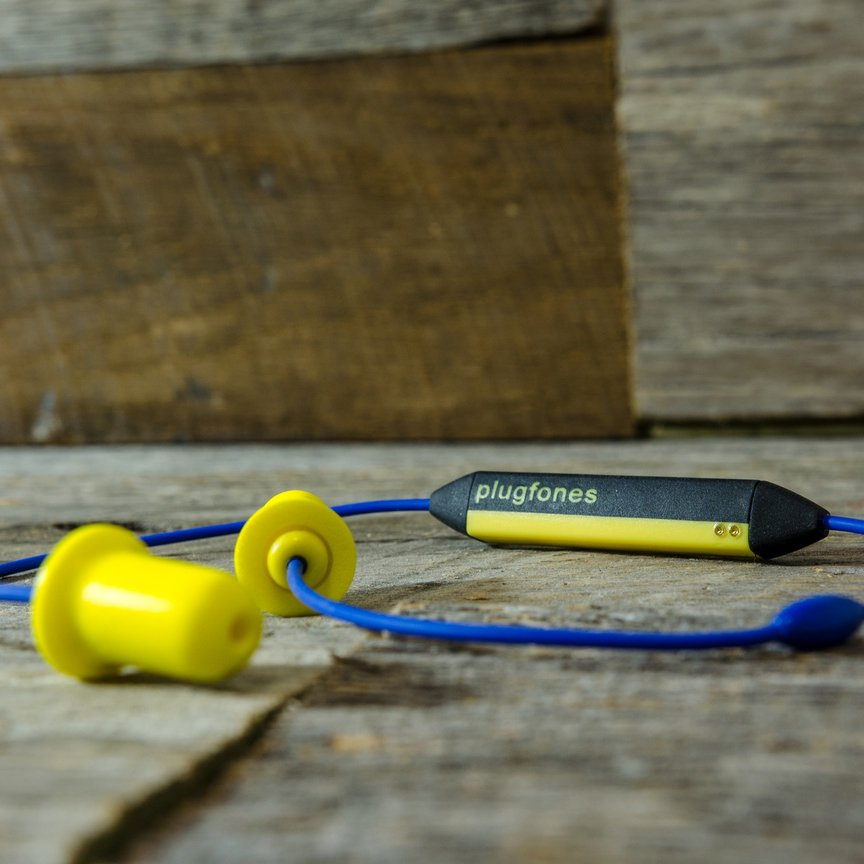 Plugfones Liberate Wireless Bluetooth Earplug Earbuds