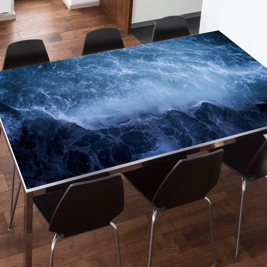 Ocean Wave Table Top Wrap