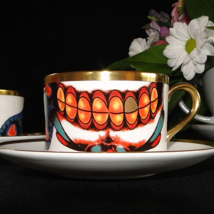 Inkhead Coffee Cup & Saucer