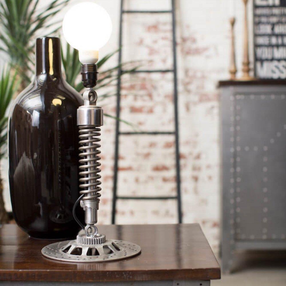 Motorcycle Spring Desk Lamp