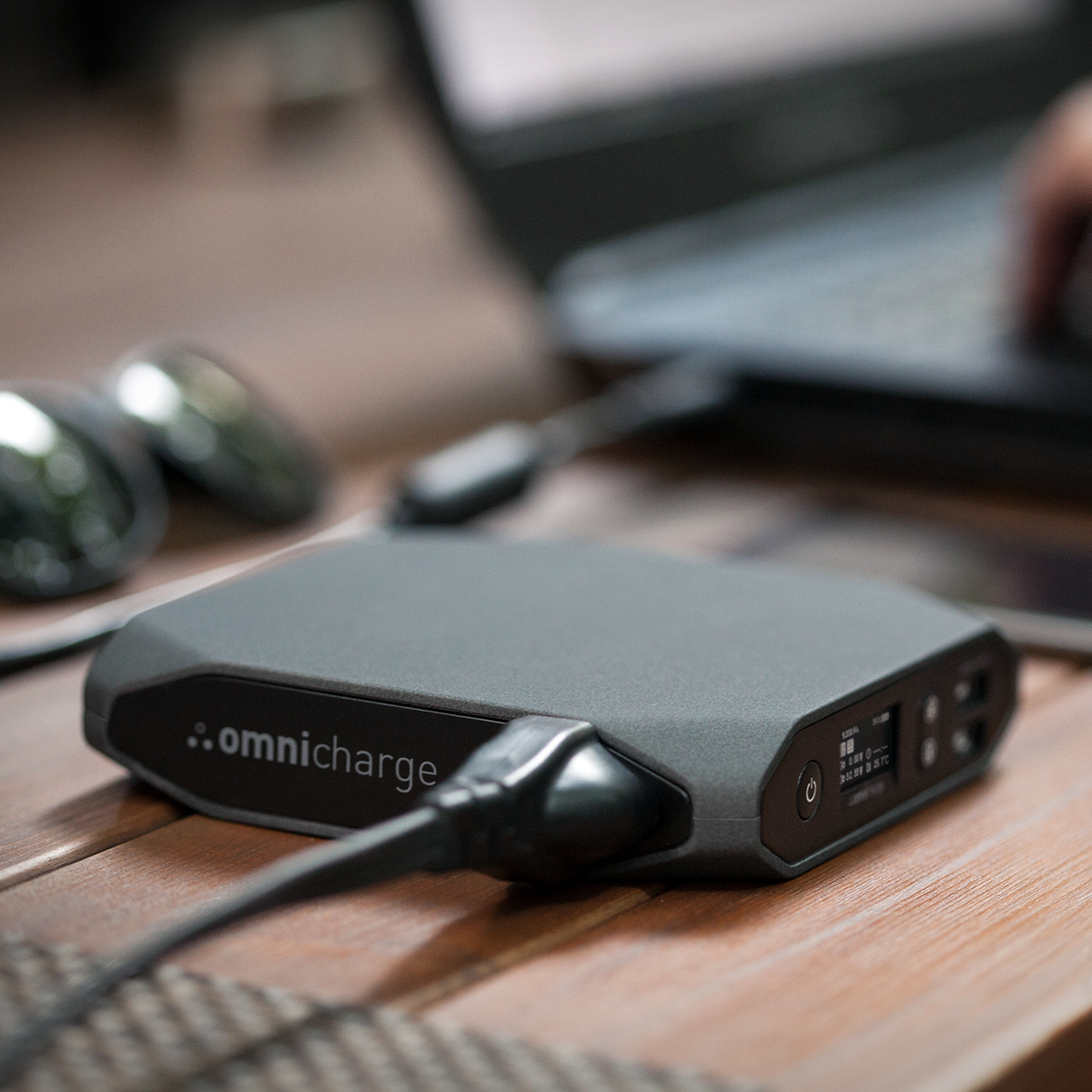 Omnicharge 20400mAh Smart & Compact Portable Power Bank
