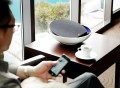 KEAS MOV1 Bluetooth Audio System in Blue/White
