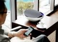 KEAS MOV1 Bluetooth Audio System in Blue/White