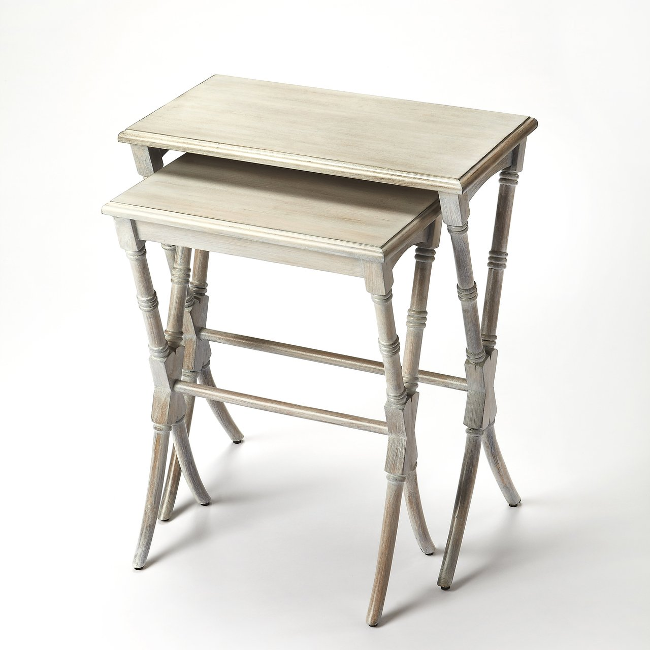 Arabella Driftwood Nesting Tables