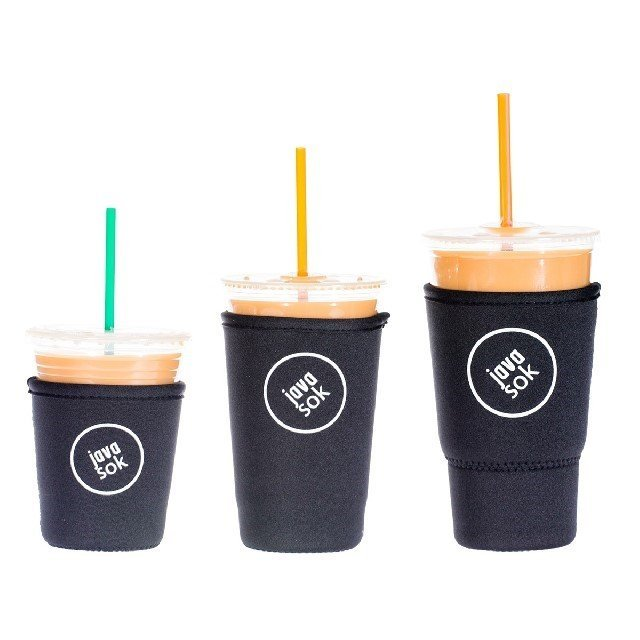Java Sok Iced Coffee Sleeve in Black