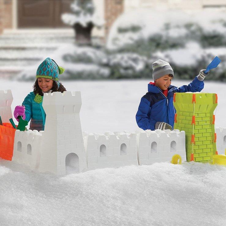 Snow Fort Building Set