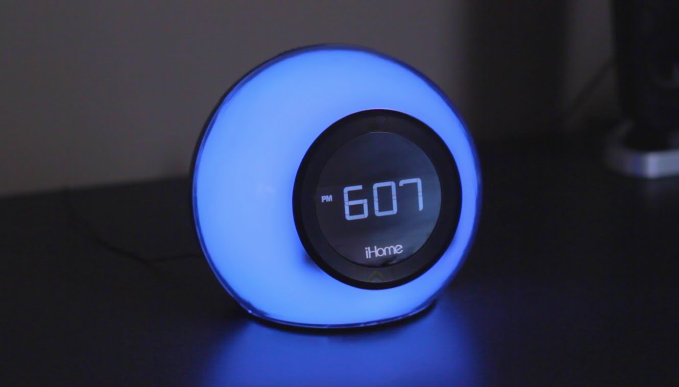 iBT29 Bluetooth Color Changing Dual Alarm Clock
