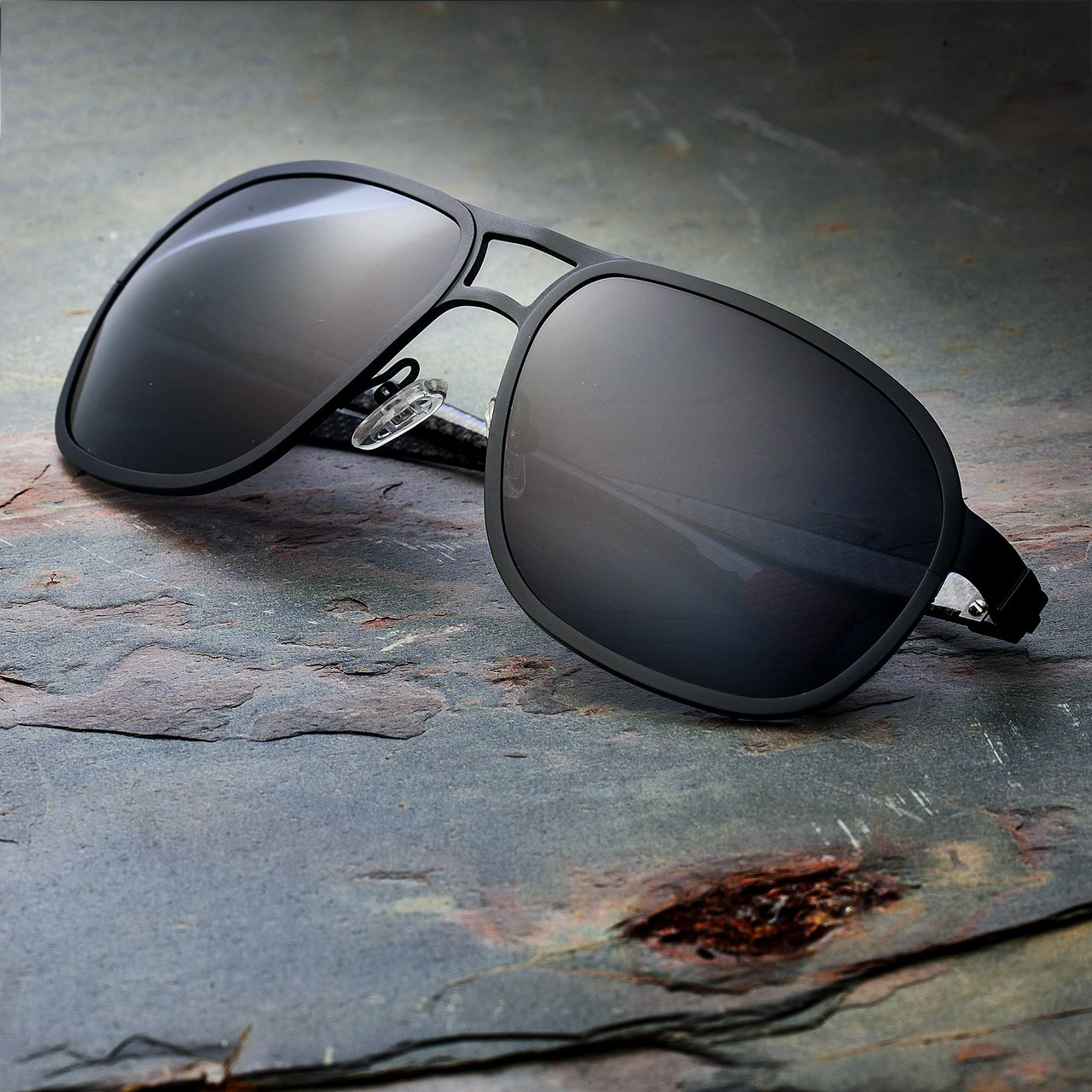 Breed Concorde Black Carbon Fiber Sunglasses
