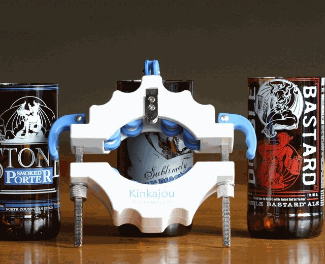 Kinkajou Bottle Cutter Bright White