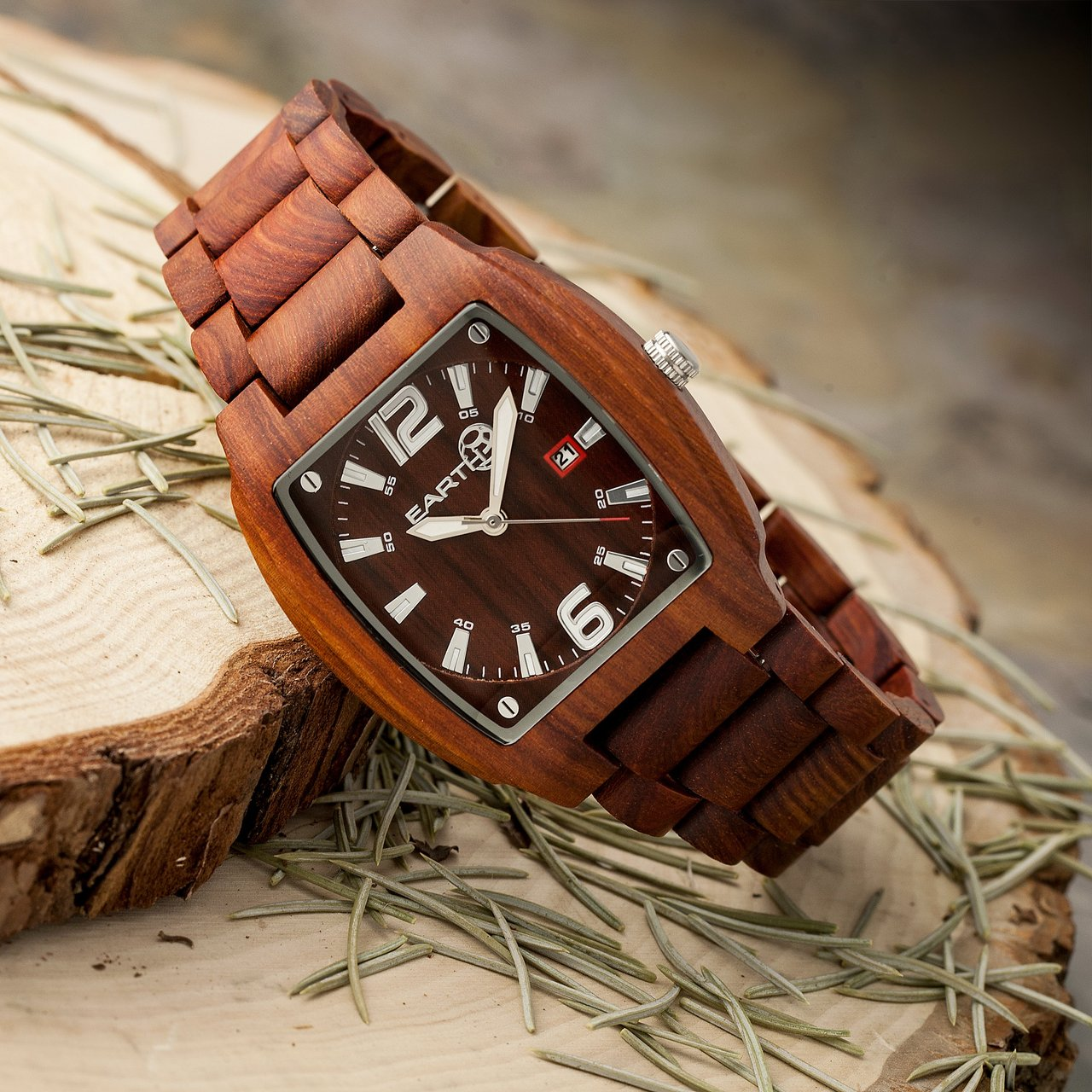 Earth Wood Sagano Eco-Friendly Sustainable Wood Watch