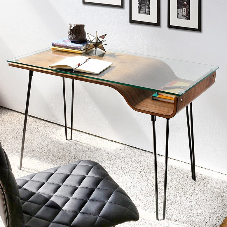 Avery Walnut Desk
