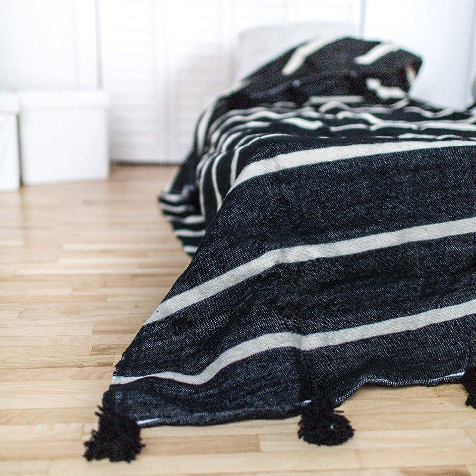 Cathar Pom Pom Blanket