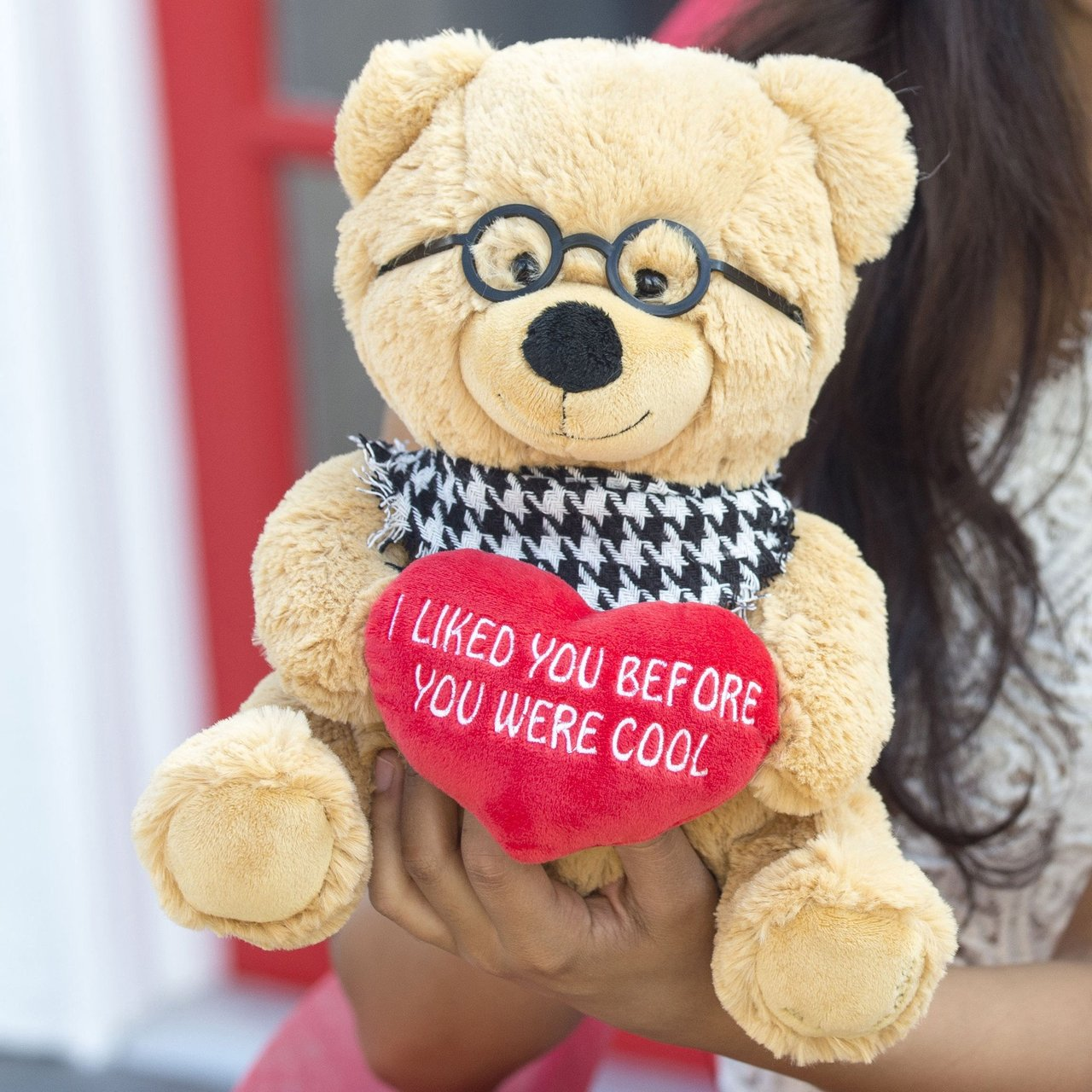 I Liked You Before You Were Cool 10″ Hipster Bear