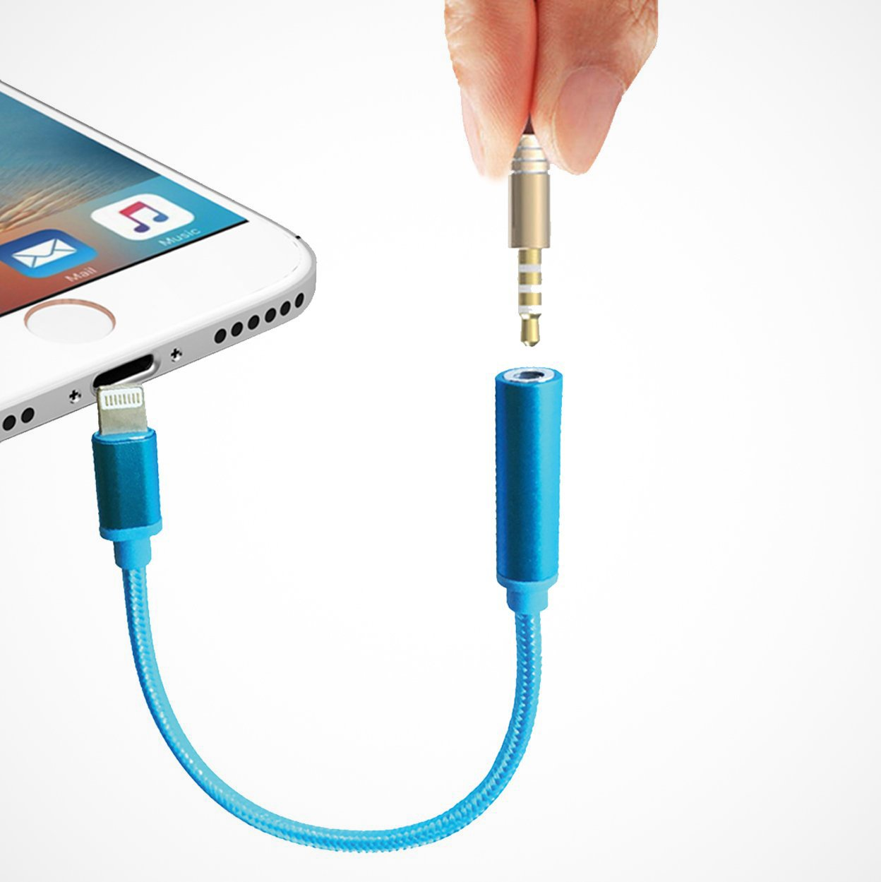 Lightning to 3.5mm Headphone Jack Adapter Cable