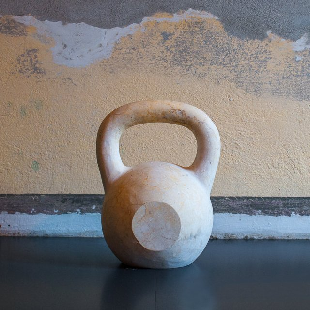 Real Marble Kettlebell