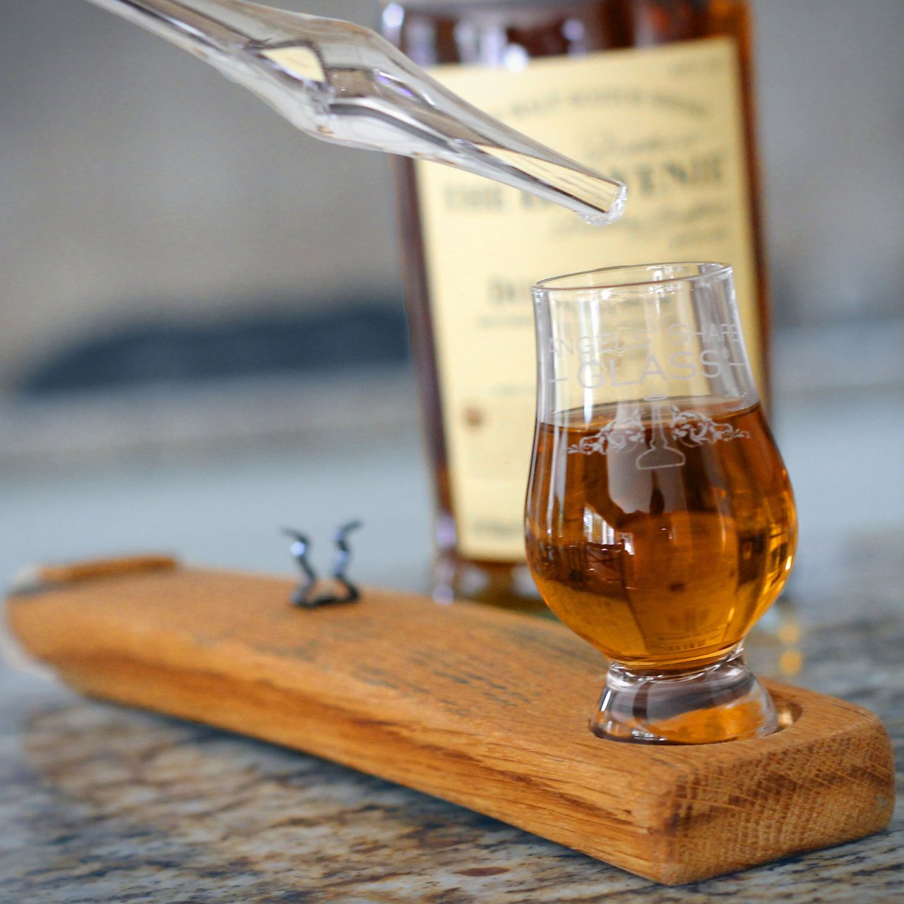 Angels' Share Glass Whisky Diluting Dropper Set