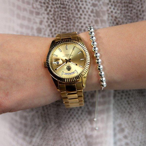 Gold Aulos Watch