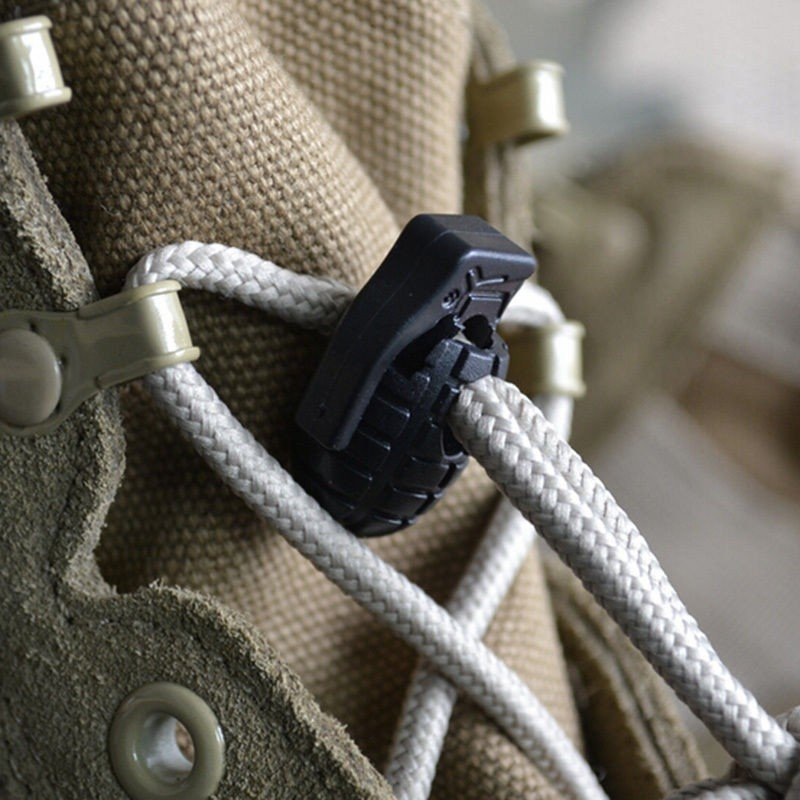 Grenade Shape Shoe Laces Tightening
