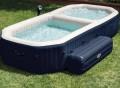 Intex PureSpa Bubble Hot Tub and Pool Combo