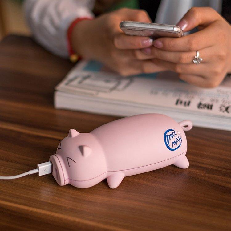 Cute Pig Power Bank