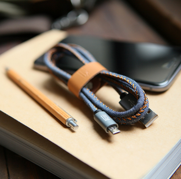 Denim Cable For Smartphone