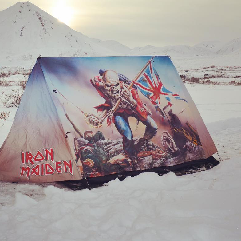 Iron Maiden Tent by FieldCandy