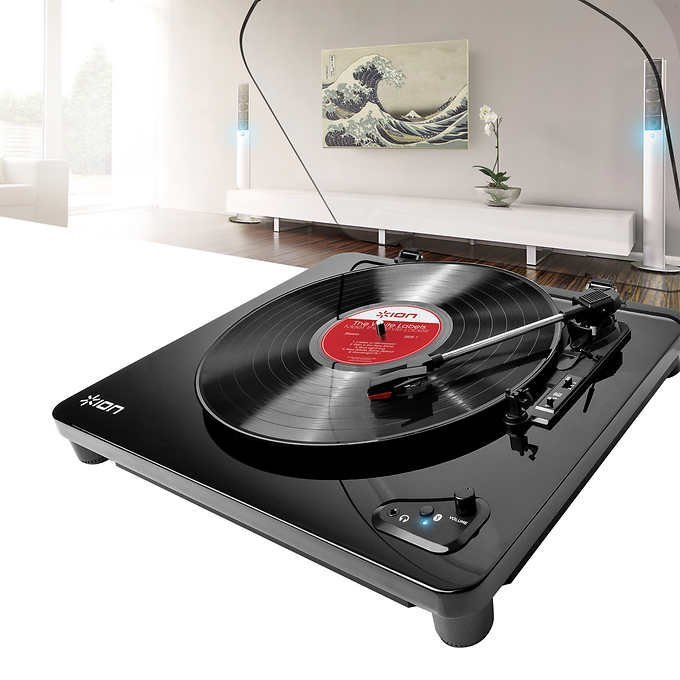 Ion Air LP Bluetooth Streaming Turntable