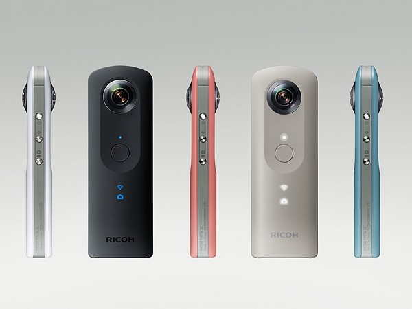 Ricoh Theta S Immersive Spherical Camera