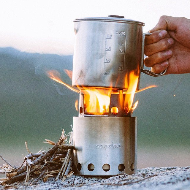 Solo Stove Lite Woodburning Backpacking Stove