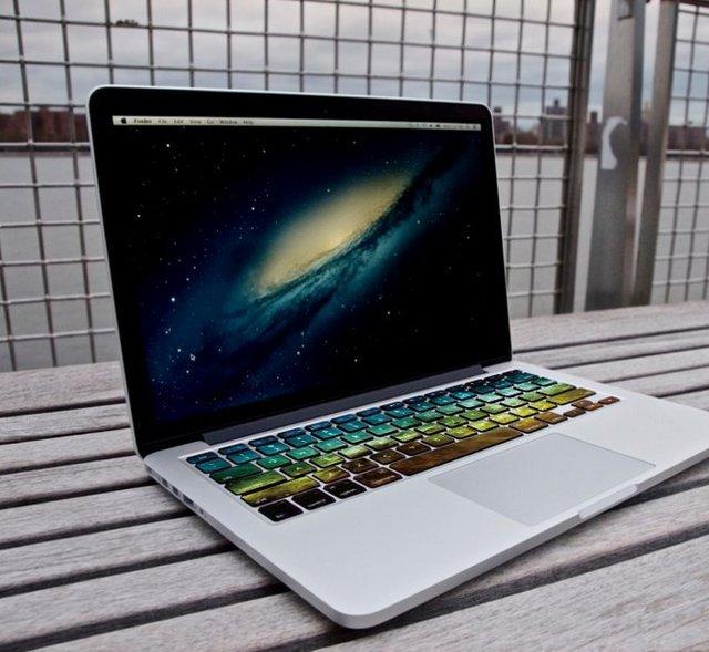 Nebula Macbook Keyboard Decal by airShopp