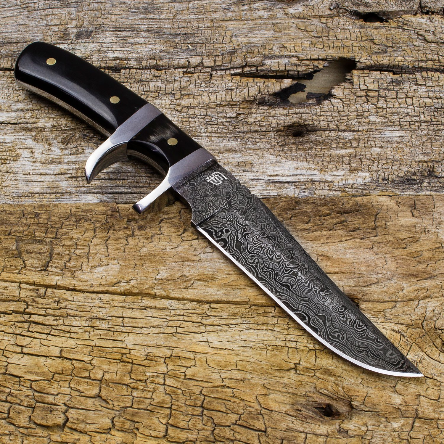 Forseti Steel Handmade Damascus Fighting Knife