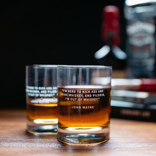Whiskey Legend Rocks Glass Sets