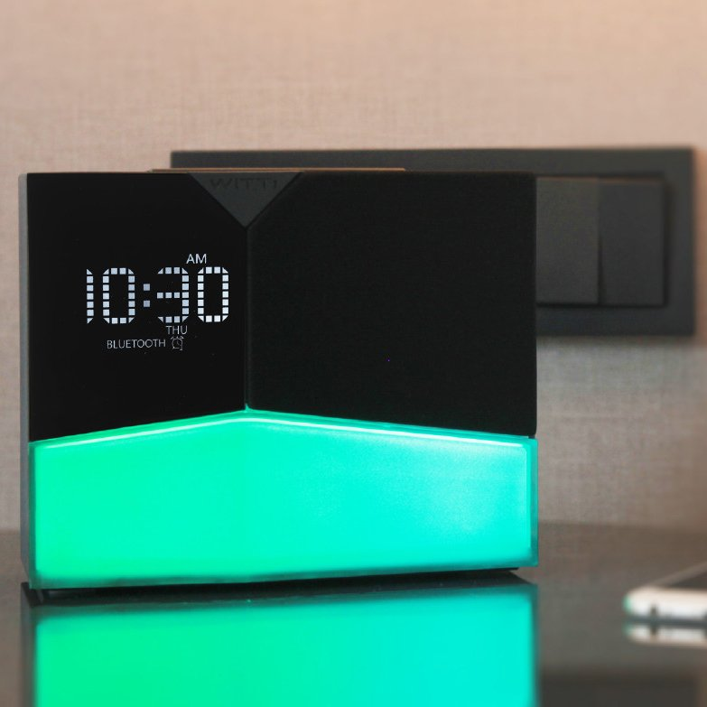 BEDDI Glow Intelligent Alarm Clock with Wake up Light
