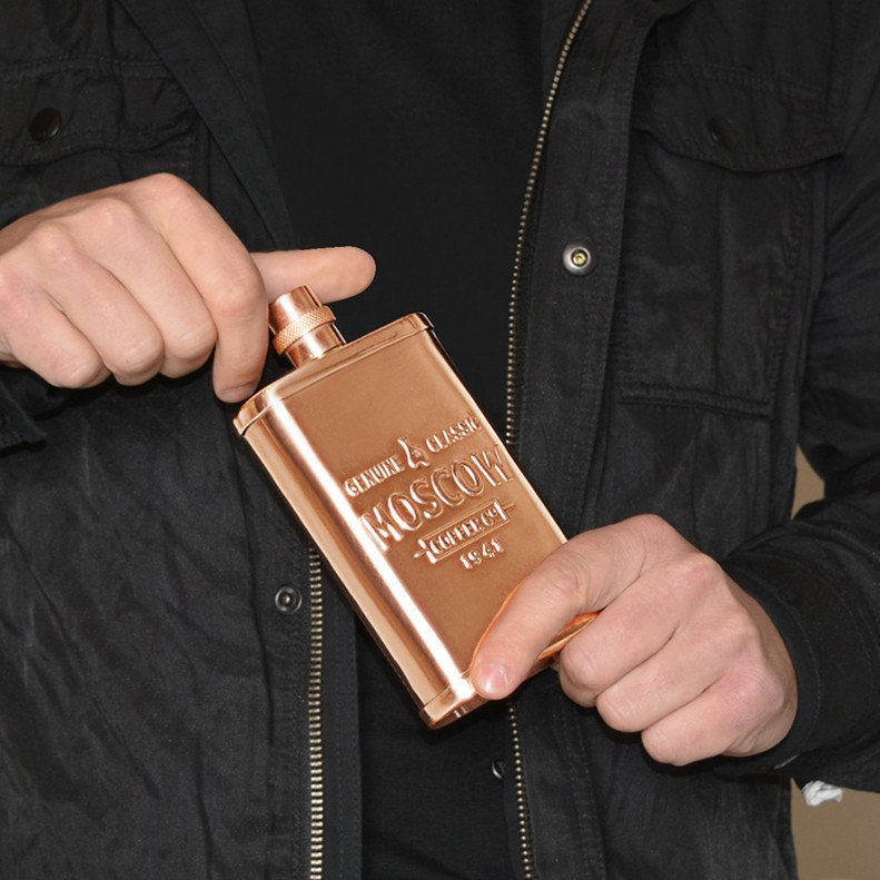 The Original Copper Flask 14 oz