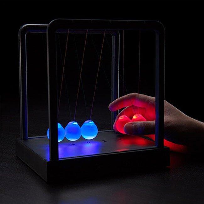 Newton's Cradle LED Balance Ball