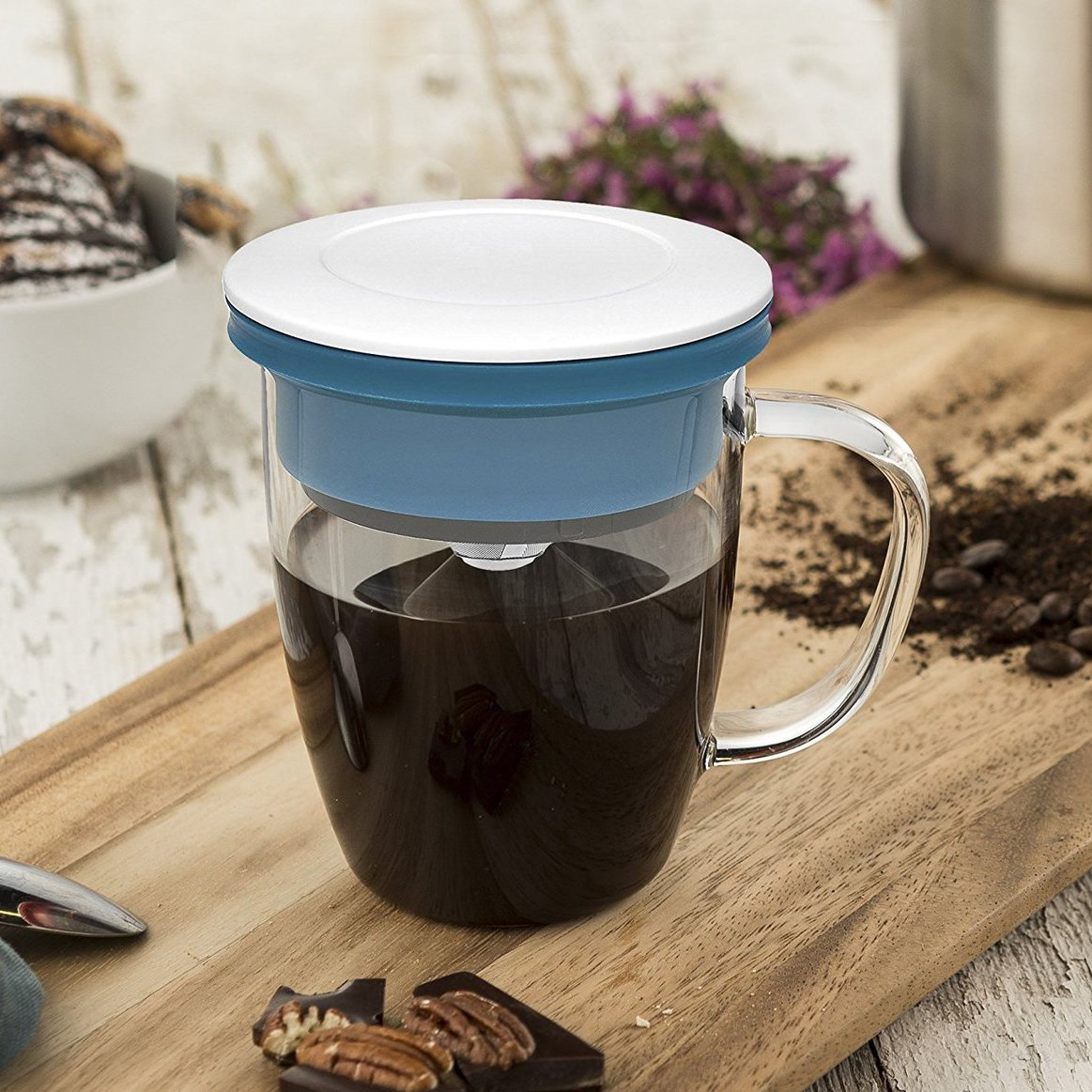 Blue Pour-Over Mug Set by Osaka Coffee