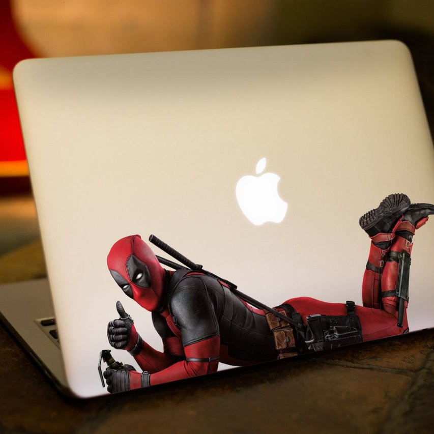 Deadpool Movie Macbook Decal