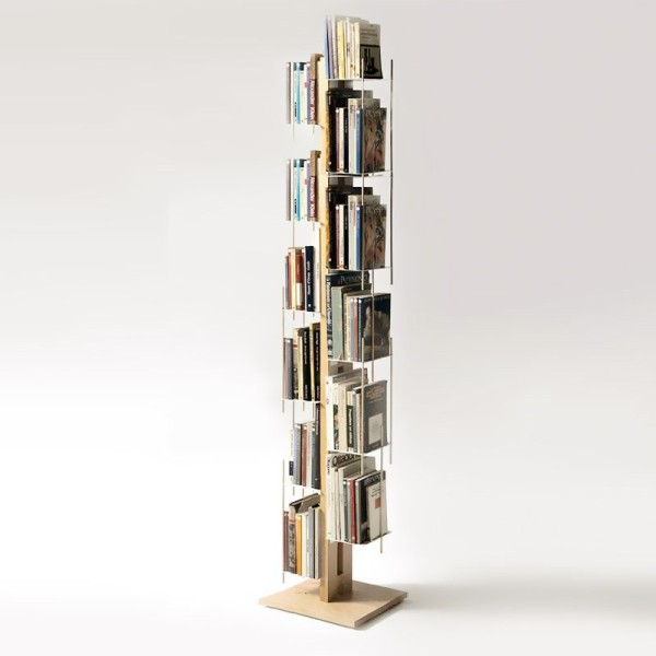 Beech Wood Self-Standing BookcasePetagadget