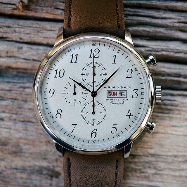 Spirit of St. Louis White Chocolate Watch