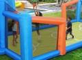 Slama Jama Inflatable Basketball Court
