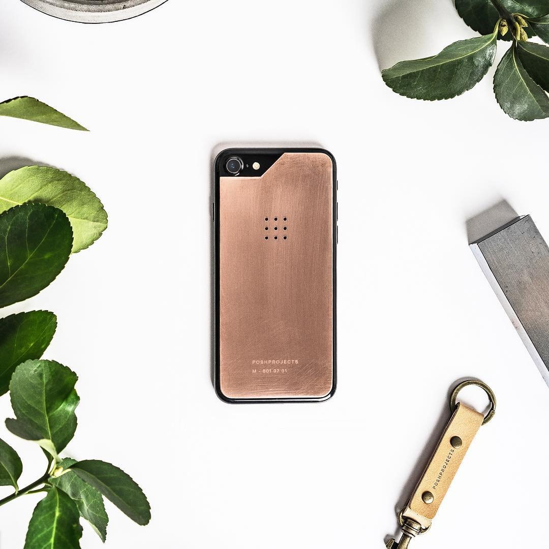 No.29˚ Copper Skin for iPhone7/7+