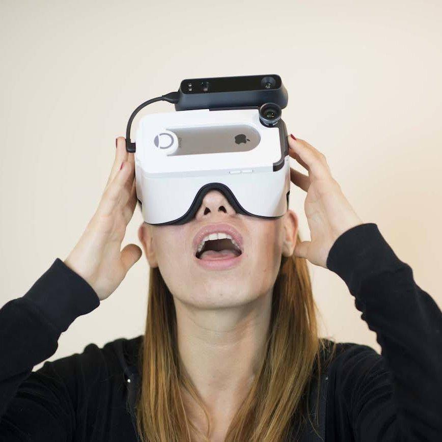 Bridge Mixed-Reality VR Headset