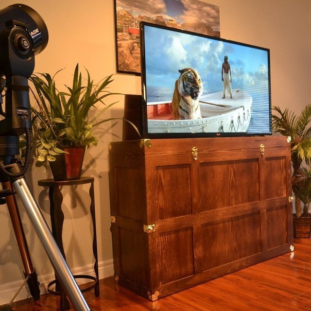 The Voyager TV Lift Cabinet