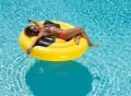 Giant Emoji Cool Sunglasses Inflatable Pool Float