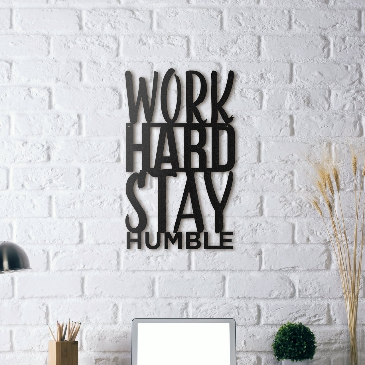 Work Hard Stay Humble Wall Art