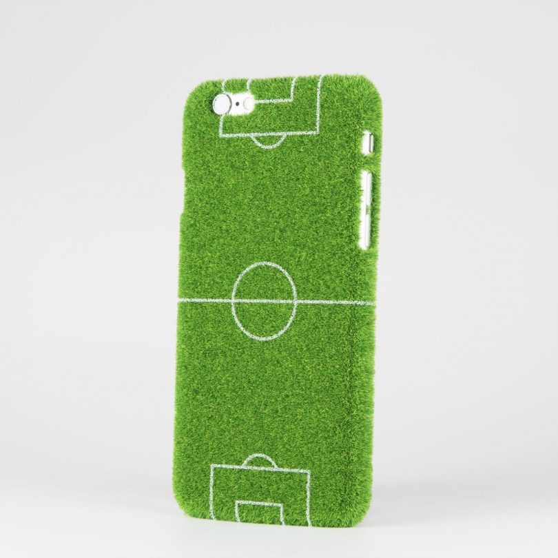 Football Fever Pitch Sport iPhone 6/6s Case by Shibaful