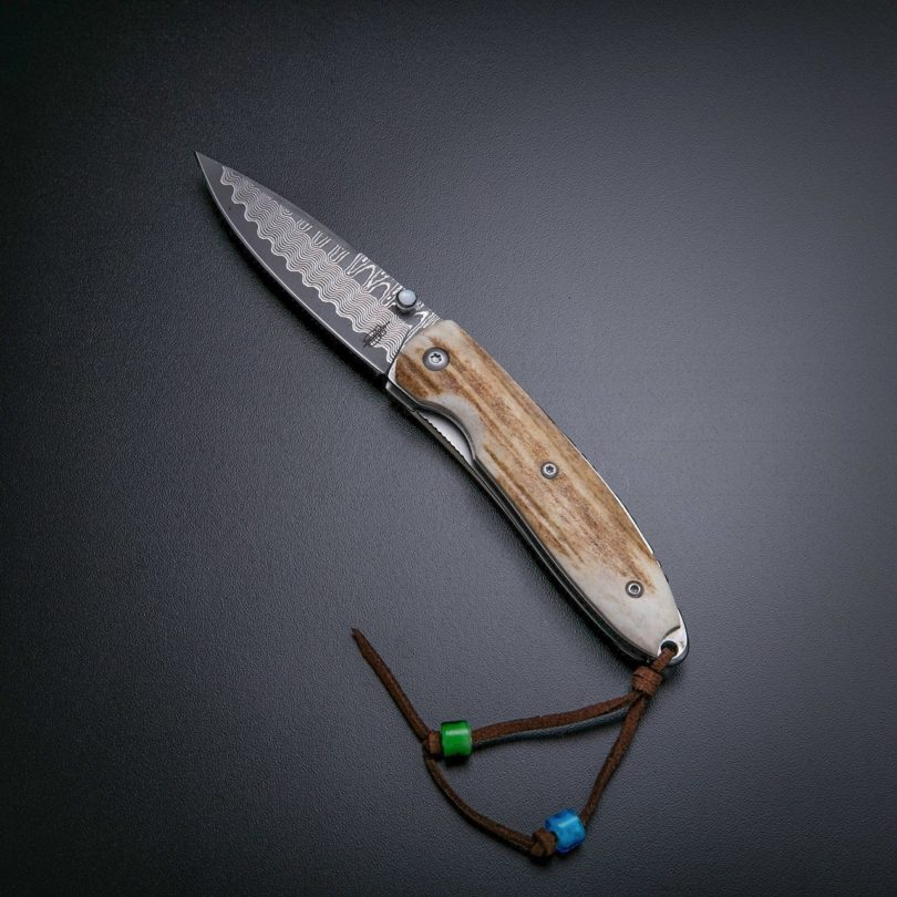 Stag Folding Knife