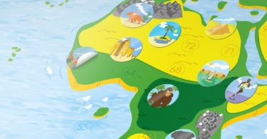 Interactive Kids World Map by Awesome Maps