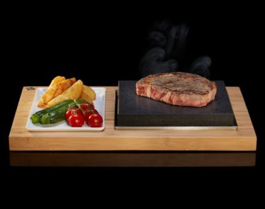 The Sizzling Steak Plate Set